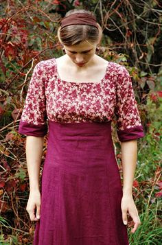 No pattern, just gorgeous inspiration: Rosie's Ramblings: ~Still Sewing.......