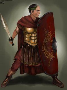 Gaius Julius Caesar by JLazarusEB on DeviantArt Ancient Rome, Ancient Greece, Gaius Julius Caesar, Pax Romana, Roman Legion, New Twitter, Roman Soldiers, Roman History, High Priest