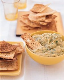 This easy dip is a lower-fat version of traditional hummus.