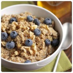 3 recipes for Oatmeal and berries. YUM