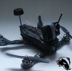 The SWH250 Quadcopter is a tiny, lightweight FPV racing frame.