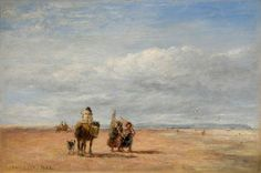 The Shrimpers by David Cox the elder