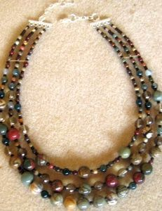 How to make multistrand necklaces - two part discussion. #Beading #Jewelry #Tutorial