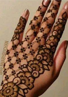 Mehandhi Designs, Modern Mehndi Designs, Mehndi Design Pictures, Wedding Mehndi Designs, Henna Designs Easy, Beautiful Mehndi Design, Mehndi Images, Mehndi Tattoo, Henna Mehndi