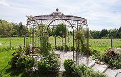 Gartenpavillon aus Metall Florenz » eleo Pavillon