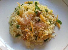 Couscous de camarão