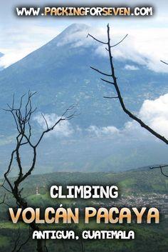 Climbing Volcán Paca