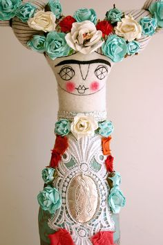 Poupée Frida par Cara Carmina #Doll #Kids #Toys