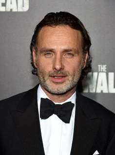 Andrew Lincoln attends AMC's 'The Walking Dead' Season 6 Fan Premiere Event 2015 at Madison Square Garden on October 9 2015 in New York City