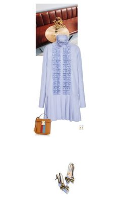 """""""Untitled #4103"""" by wizmurphy ❤ liked on Polyvore featuring Prada, Miu Miu, Maggie Marilyn and Mark Cross"""