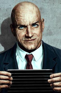 Absolute Lex Luthor cover by Lee Bermejo