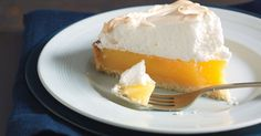 A crispy base, tangy citrus centre and fluffy meringue top makes this a pie to die for - best of all, it's gluten-free so everyone can have a slice.