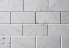 These Bianco Carrara C Marble splashback tiles have a white background with striking grey veining throughout. The honed surface and chamfered edge gives the tiles a contemporary finish and a real feeling of luxury. Bianco, Grout Sealer, Bianco Carrara, Tiles, Marble Tile Kitchen, Stone Flooring, Kitchen Marble, Carrara Tiles, Splashback