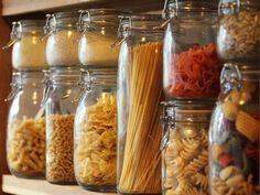 Food Network Recipes 257690409903066567 - Pantry Essentials Checklist : Food Network Source by krellykreller Bushcraft, Kitchen Pantry Storage, Food Storage, Storage Ideas, Storage Jars, Pantry Organization, Storage Containers, Storage Spaces, Comida Diy