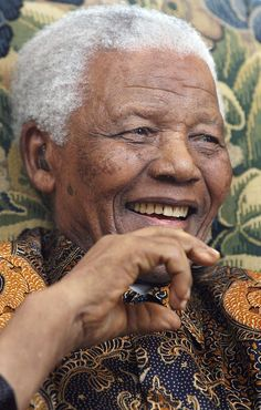 Positive thoughts, love and light for this gentle, wise, giant of a man. We love you, Madiba.