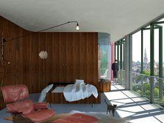 Het micro-appartement in de stad - XS Deluxe Micro Apartment, Lofts, Amsterdam, Amazing, Room, Furniture, Home Decor, Loft Room, Bedroom