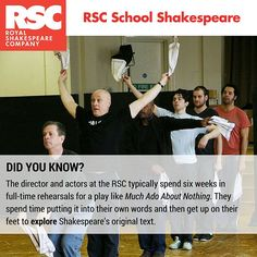 Our new RSC School Shakespeare titles provide exclusive insights into RSC rehearsal room practice and preparation.