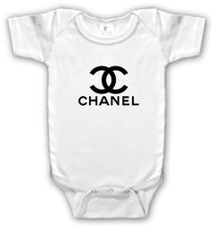wholesale dealer 99d67 446d3 Aya, I will hv to tell my mom about this! Chanel Baby Onesie by