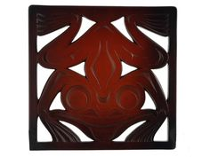 Frog Trivet made from Recycled Glass