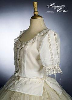 Margarita Vercher Heirloom Sewing, Bobbin Lace, Margarita, Headpiece, Clothes For Women, My Style, Womens Fashion, Sleeves, Vintage