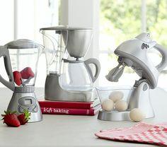 Toy Kitchen Appliances | Pottery Barn Kids eu quero decorar minha cozinha assim!!!!!