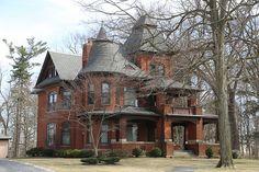 Brick house in Upper Sandusky Ohio, Wyandot County OH