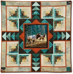 Elk Country - Sew Many Visions