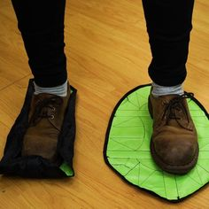 How Many Times Have You Wished To Go In The House And Grab Something Without Taking Off Your Shoes/Boots Etc. Well You Can With These Cool and Fast Hands Free Reusable Shoe Covers. Things To Buy, Stuff To Buy, Incense Holder, Getting Wet, Suits You, Your Shoes, New Product, Cleaning Hacks, Cover