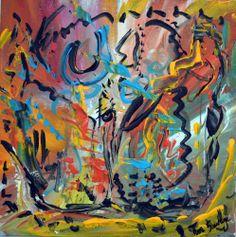 la peinture abstraite me permet de m'exprimer librement sur la toile ! Découvrez mes oeuvres sur http://www.amesauvage.com