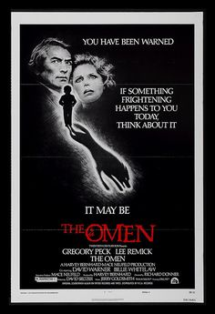 9/02/14  2:36a 20th Century Fox   ''The Omen''  Gregory Peck  Lee Remick   David Warner  Billie Whitelaw Poster  1976 by VisualStation  on  flickr.com