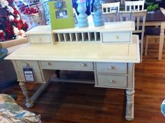 Lehi Utah, Desks, Office Desk, Corner Desk, Cream, Furniture, Color, Home Decor, Mesas