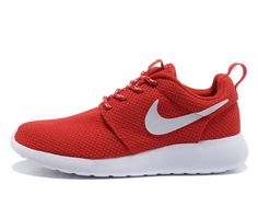 3967c085e080 Challenge Red White Volt Nike Roshe Run Womens Shoes Sneakers Nike