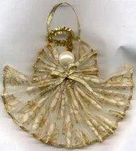 Ribbon Angel Ornament