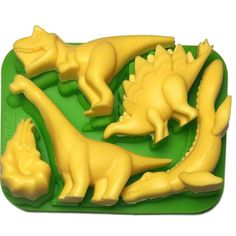 Dinosaur Ice Tray Chocolate Mold