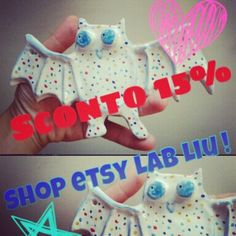 In the shop Etsy Lab Liu, a discount of 15% on an article or in any case on the final expenditure, inputting, at the time of payment, the code: ROSALILLA10!