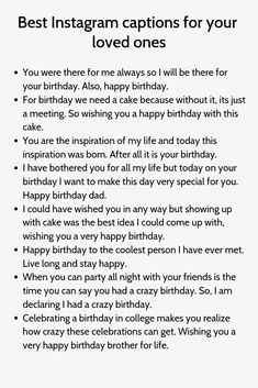 Happy Birthday Quotes for Brother - Funny Birthday Quotes Birthday Caption For Brother, Caption For Brothers, Brother Birthday Quotes, Brother Quotes, Attitude Caption For Instagram, Instagram Captions For Selfies, Selfie Captions, Cool Instagram, Humor