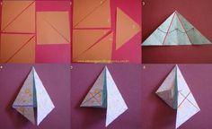 Zen Origami: FLÔ di BEM QUERENÇA tutorial per stella