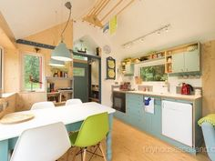 Retro-modern Scottish tiny house is all about simple comforts