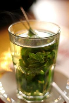 """""""Peppermint is pretty key here as it reduces bloating and flatulence and will help with indigestion,"""""""