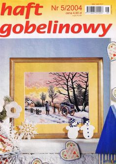 (1) Gallery.ru / Фото #1 - 2004 05 - tymannost Cross Stitch Magazines, Frame, Projects, Painting, Home Decor, Journals, Cross Stitch, Picture Frame, Log Projects