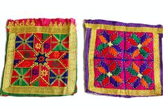 FREE SHIPPING A set of 2 pieces assorted by coloursofspirit