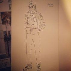 Fashion Sketch #014