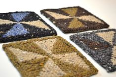 Ravelry: Northwoods Coasters pattern by Robin Ulrich