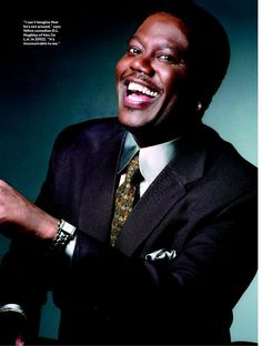 Bernie Mac...  I miss him <3  I loved his show... LOL :)