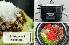 Bolognese i Crock-pot - Mindfulmad. Bolognese, Dog Food Recipes, Dinner Recipes, Healthy Snacks, Healthy Recipes, Diabetes Treatment Guidelines, Diabetic Dog, Freezer Cooking, Health Breakfast