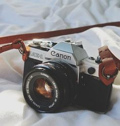 Canon AE-1 on my wanted list/next photography buy. Film, here I come .. (Back).