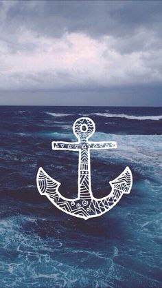 Sea Anchor. Nature Sea and ocean vintage backgrounds. Tap to see more awesome iPhone wallpapers like this! @mobile9