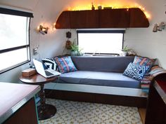 Before & After: Rebecca's Awesome Affordable Airstream Makeover