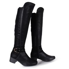 Bota Over The Knee Feminina Mississipi - Preto