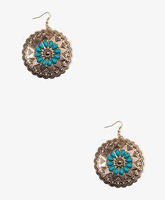 Tribal-Inspired Drop Earrings #Forever21 #NewFrontier